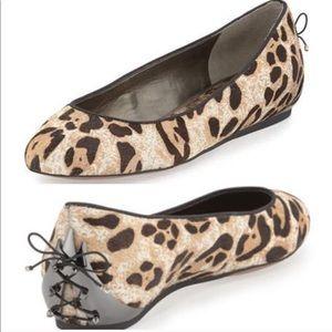 Sam Edelman Joya Leopard Corset Flat